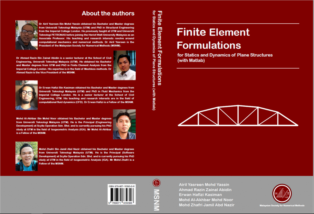 Publication (by MSNM Publisher) – MALAYSIAN SOCIETY FOR NUMERICAL